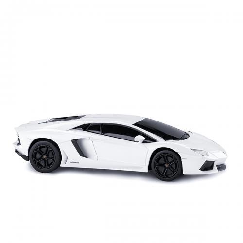 Masinuta cu telecomanda Rastar Lamborghini Aventador LP700 RC - Alb - 1:24 - Masinute electrice -