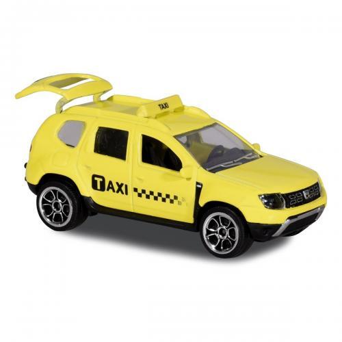Masinuta Dacia Duster Majorette - 75 cm - Taxi - Masinute copii -