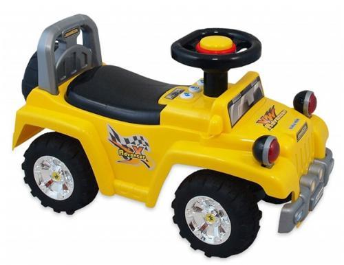 Masinuta de impins copii Baby Mix UR HZ553 yellow - Vehicule fara pedale -