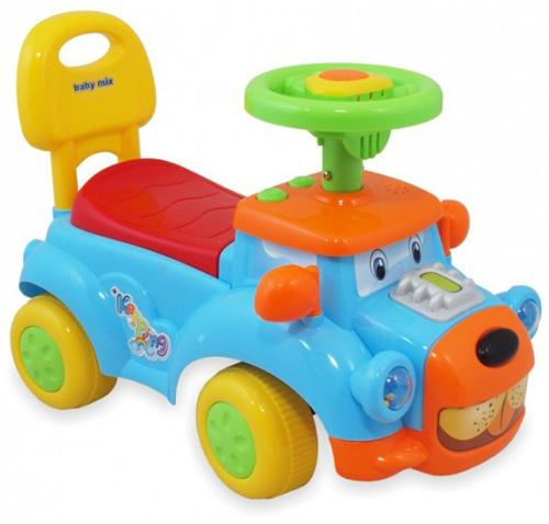 Masinuta de impins copii Baby Mix UR HZ554 Blue - Vehicule fara pedale -