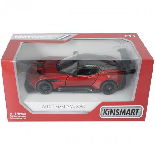 Masinuta din metal Kinsmart - Aston Martin Vulcan - Rosu - Masinute copii -
