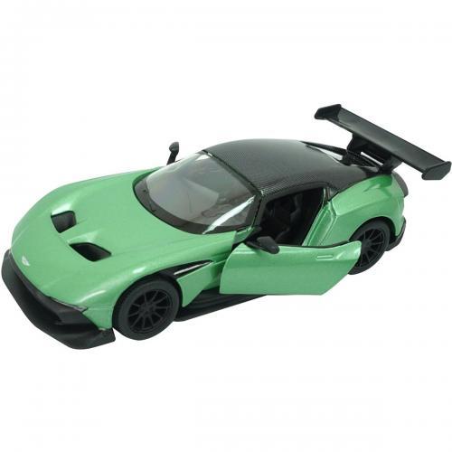 Masinuta din metal Kinsmart - Aston Martin Vulcan - Verde - Masinute copii -