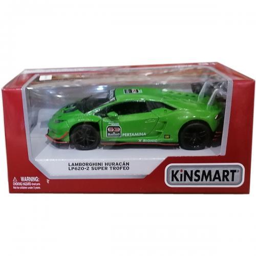 Masinuta din metal Kinsmart - Lamborghini Huracan - Verde - Masinute copii -