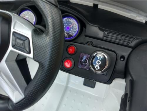 Masinuta electrica 12V Mercedes Benz ML 350 cu roti EVA si scaun de piele Red - Masinute electrice -