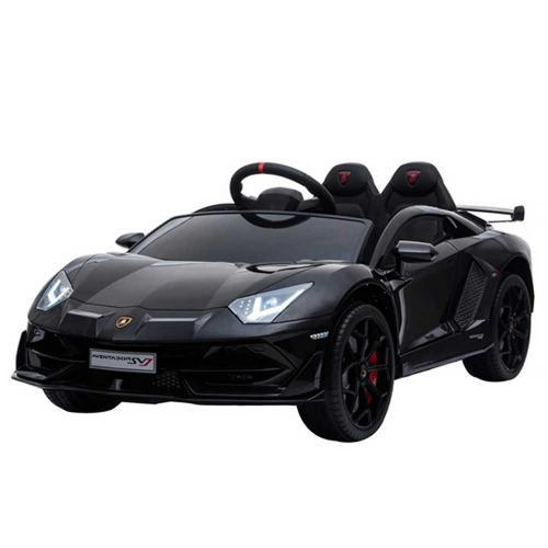 Masinuta electrica Chipolino Lamborghini Aventador SVJ black cu roti EVA - Masinute electrice -