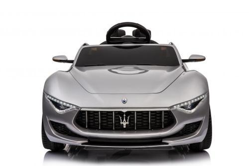 Masinuta electrica cu roti din cauciuc Maserati Alfieri Silver - Masinute electrice -