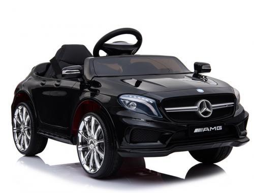 Masinuta electrica pentru copii Mercedes GLA45 AMG Black - Masinute electrice -