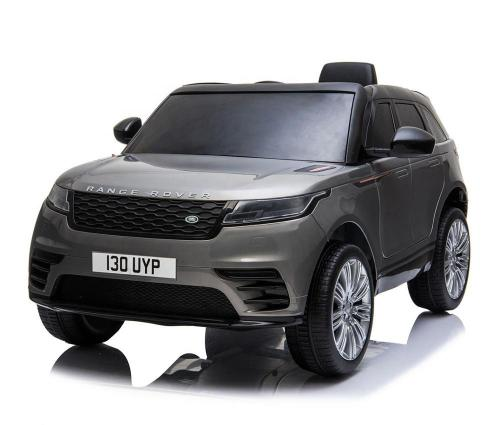 Masinuta electrica Range Rover Velar cu scaun de piele Grey - Masinute electrice -