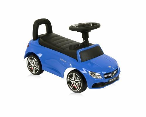 Masinuta fara pedale Mercedes Coupe muzica si sunete Blue - Vehicule fara pedale -