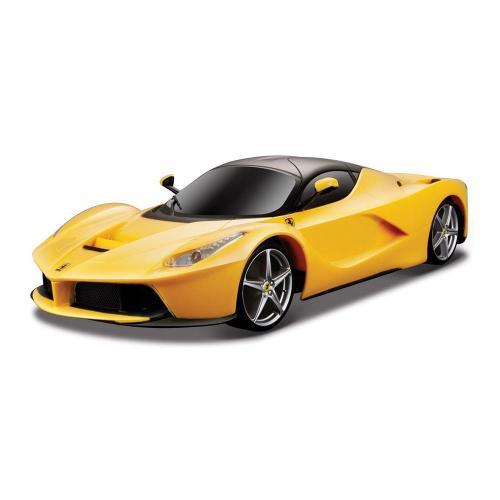Masinuta Maisto Motosounds Ferrari - 1:24 - Galben - Masinute copii -