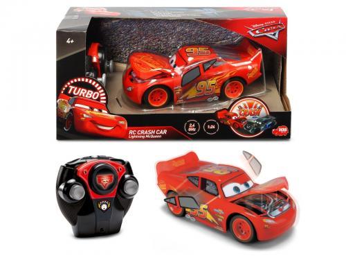 Masinuta McQueen Crazy Crash Cars 3 RC 1:24 - Masinute electrice -
