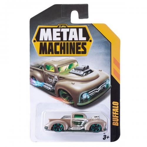 Masinuta Metal Machines Buffalo - 1:64 - Gri - Masinute copii -