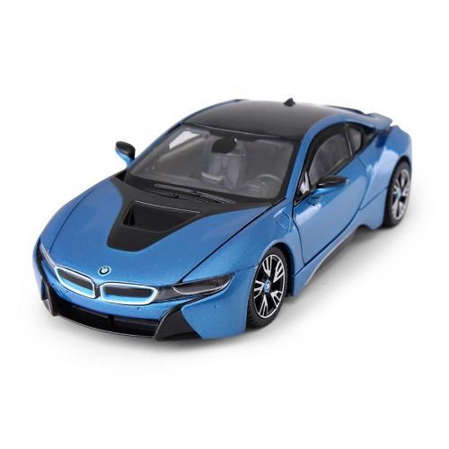 Masinuta Rastar BMW I8 - Albastru - 1:43 - Masinute copii -