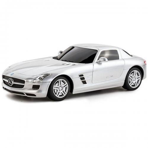 Masinuta Rastar Mercedes-Benz SLS AMG - Gri - 1:43 - Masinute copii -