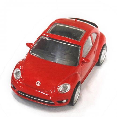Masinuta Rastar Volkswagen Beetle - Rosu - 1:43 - Masinute copii -