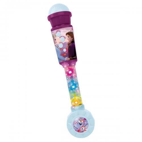 Microfon cu efecte sonore si luminoase Lexibook Disney Frozen 2 - Jucarii interactive -