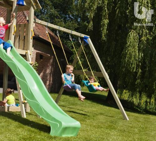 Modul pentru spatiu de joaca Swing Basic Leagan Fara Sezuturi - Jucarii de exterior - Spatiu de joaca