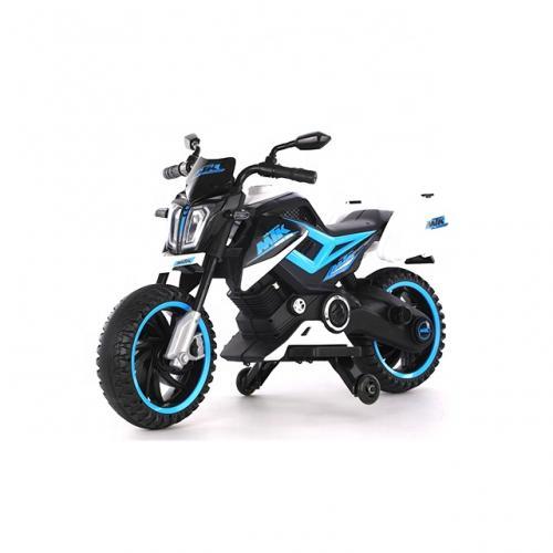 Motocicleta Electrica 12V Nichiduta MTK Blue - Masinute electrice -