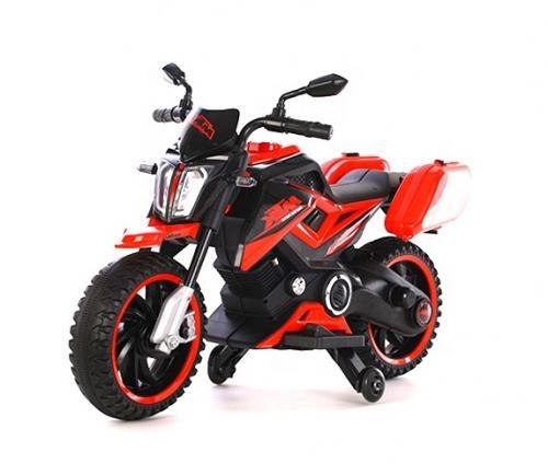 Motocicleta Electrica 12V Nichiduta MTK Red - Masinute electrice -