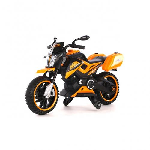 Motocicleta Electrica 12V Nichiduta MTK Yellow - Masinute electrice -