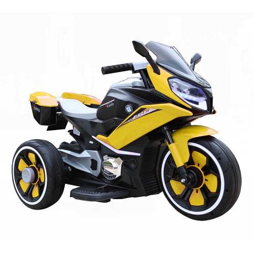 Motocicleta electrica 6V Nichiduta Racing Yellow - Masinute electrice -