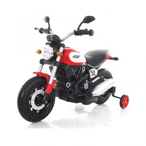 Motocicleta electrica cu roti gonflabile Nichiduta Rider Red - Masinute electrice -