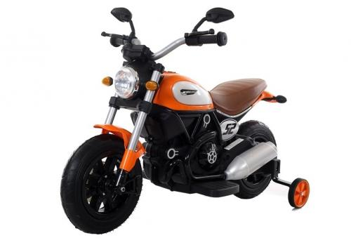 Motocicleta electrica cu roti gonflabile Nichiduta Rider Yellow - Masinute electrice -