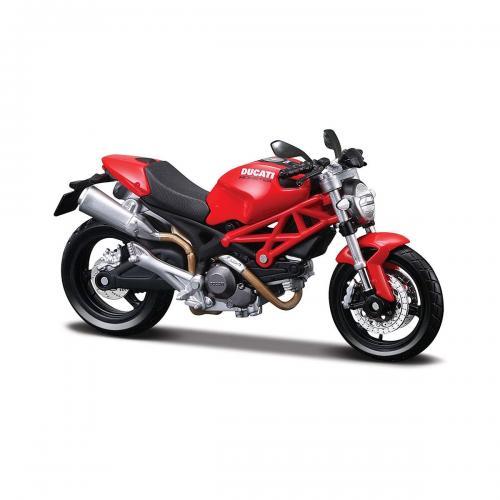 Motocicleta Maisto Ducati Monster 696 - 1:12 - Masinute copii -
