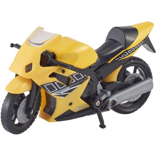Motocicleta Teamsterz Speed Bike - Galben - Masinute copii -