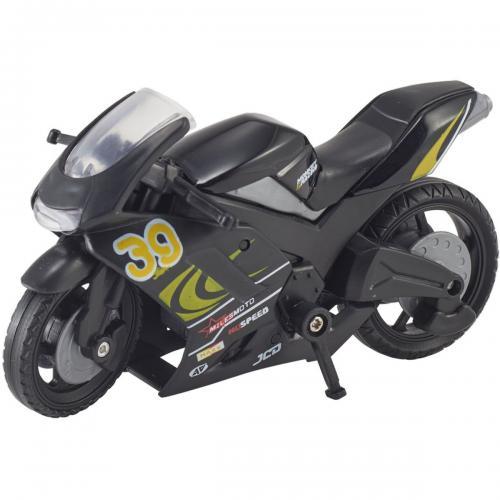 Motocicleta Teamsterz Speed Bike - Negru - Masinute copii -