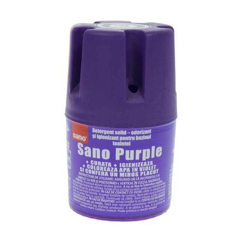 Odorizant toaleta Sano Purple - 150g - Home deco -
