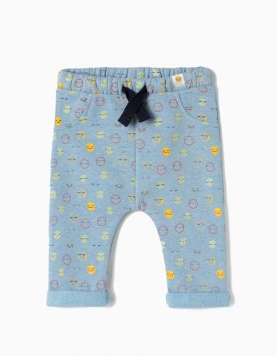 Pantaloni cu imprimeu Zippy - Imbracaminte copii - Pantaloni
