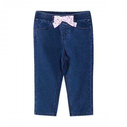 Pantaloni jeans cu detalii frontale Zippy - Imbracaminte copii - Pantaloni