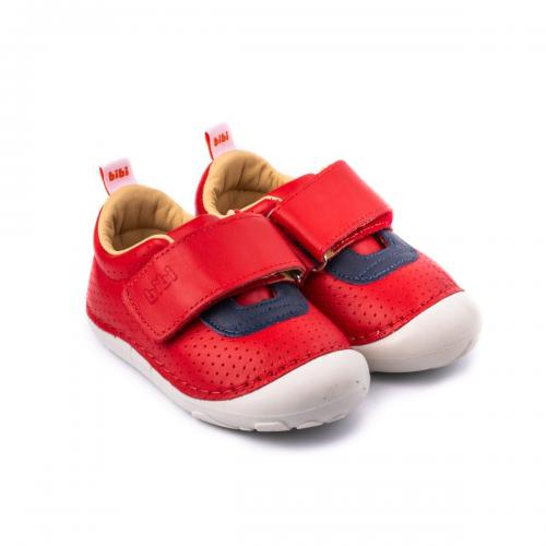 Pantofi sport unisex Bibi Shoes Grow - Rosu - Imbracaminte copii - Incaltaminte copilasi