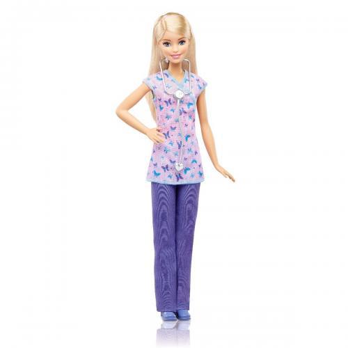 Papusa Barbie Career - Asistenta medicala - Papusi fetite -