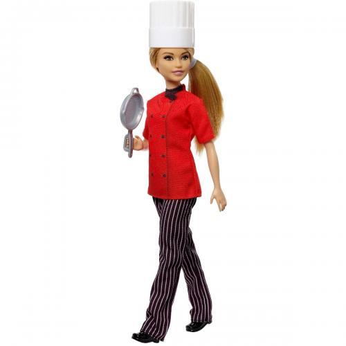 Papusa Barbie Career - Bucatar Sef - Papusi fetite -