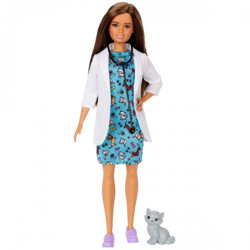 Papusa Barbie Career - Doctor Veterinar - Papusi fetite -