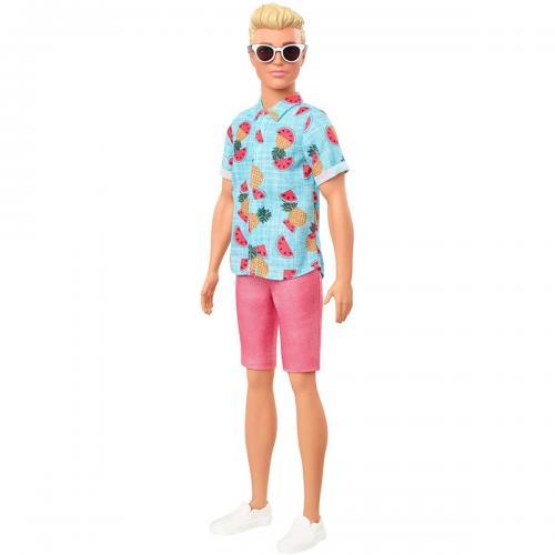 Papusa Barbie Fashionistas - Ken GHW68 - Papusi fetite -