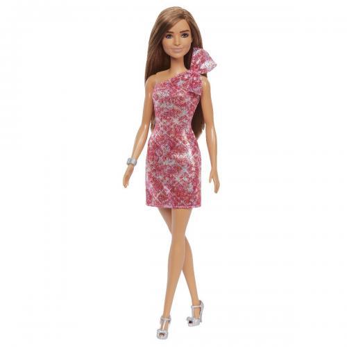 Papusa Barbie Glitz cu accesorii (GRB33) - Papusi fetite -