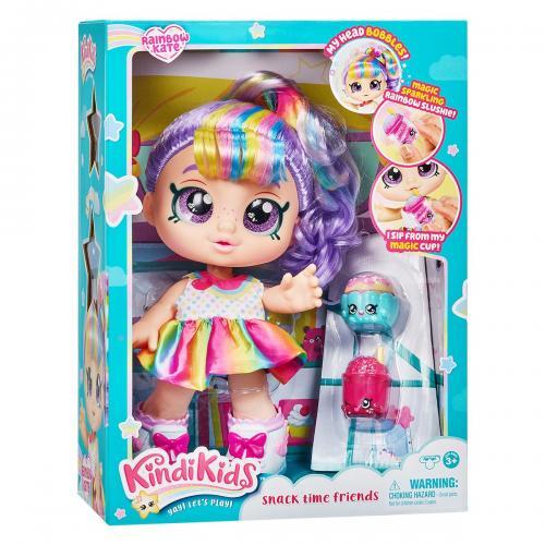 Papusa cu accesorii Kindi Kids - Rainbow Kate - Papusi fetite -
