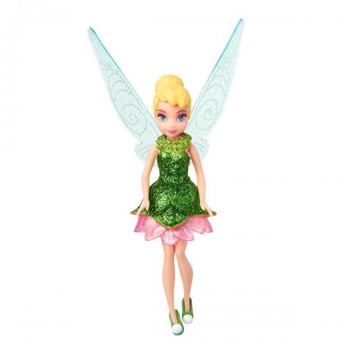 Papusa Disney Fairies - Tinker Bell - Verde - 12 cm - Papusi fetite -
