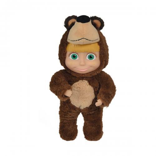 Papusa Masha and The Bear - in costum de urs - 25 cm - Papusi fetite -