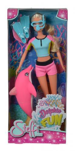 Papusa si delfin Simba Steffi love - Papusi fetite -