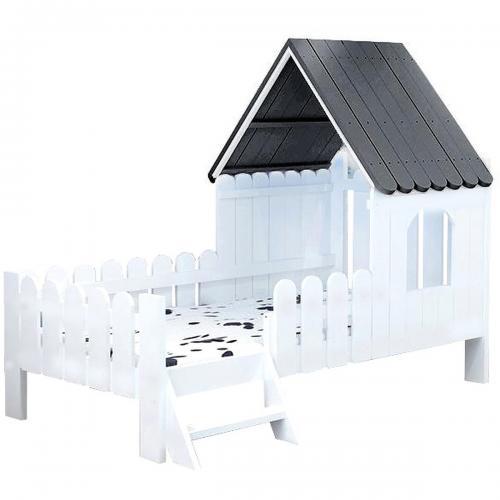 Pat casuta Home Concept Jacob - Patuturi copii -