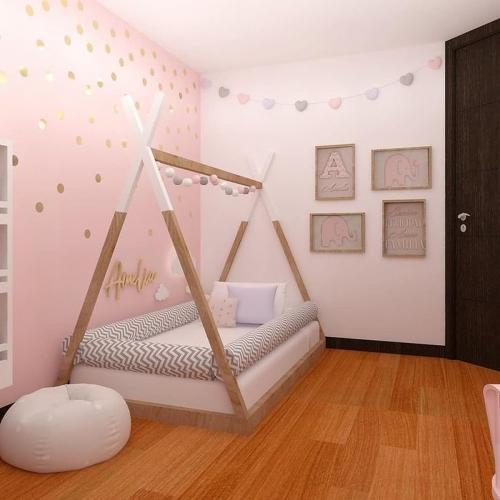 Pat cort Home Concept Montessori Poppy - Patuturi copii -