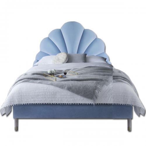 Pat tapitat Home Concept - Pearl - Blue - Patuturi copii -