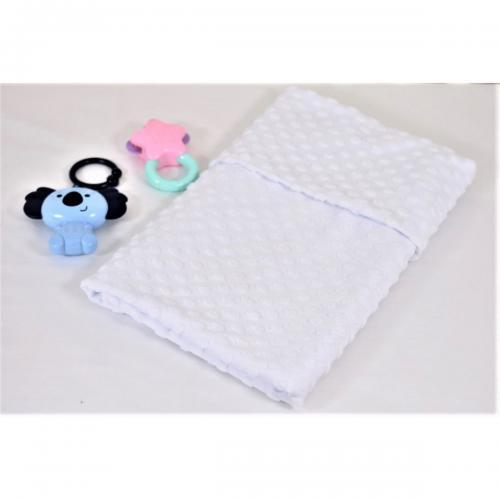 Paturica tricot - Paturica Fermecata - 75 x 100 cm - Bulinute - Camera copilului - Perne paturici