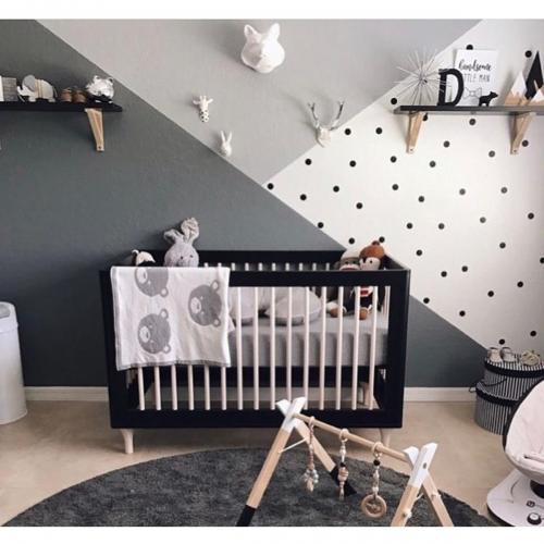 Patut bebe Home Concept - Negru - Patuturi copii -