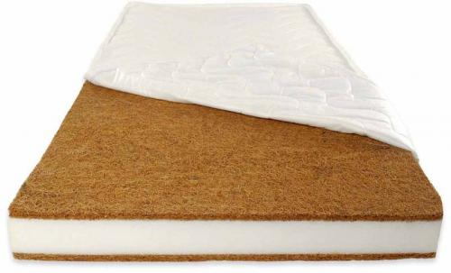 Patut din lemn Radek X Alb + Saltea Comfort 12 cm - Patuturi copii - Patut din lemn