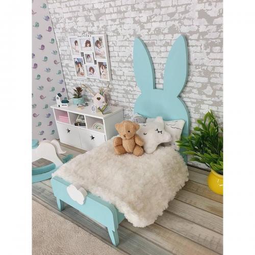 Patut Home Concept - Iepuras - Blue - Patuturi copii -